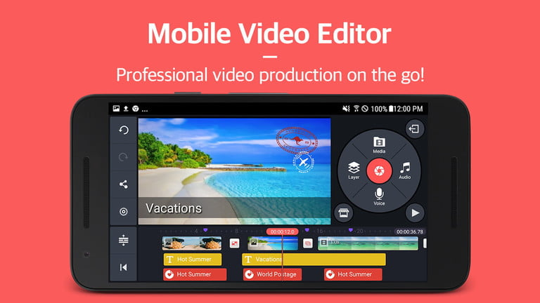 aplicaciones edicion video para ios y android kinemaster