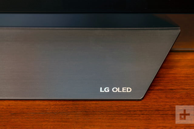revision lg e8 oled series tv stand detail