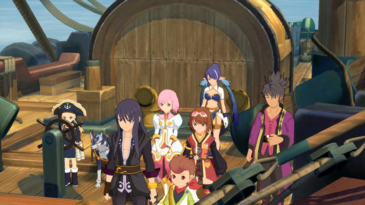 revision tales of vesperia definitive edition switch screenshot 1