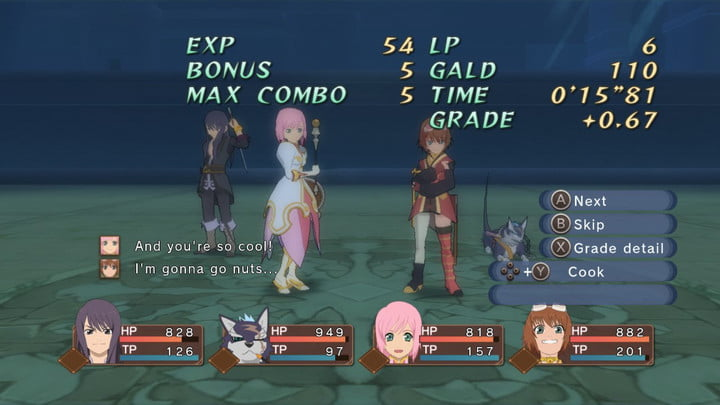 revision tales of vesperia definitive edition switch 4