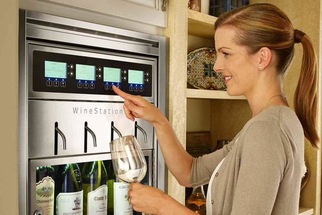 dacors voice activated oven debuts at ces 2015 discovery winestation model