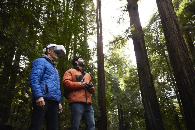 dji goggles launched  flying with friend 3