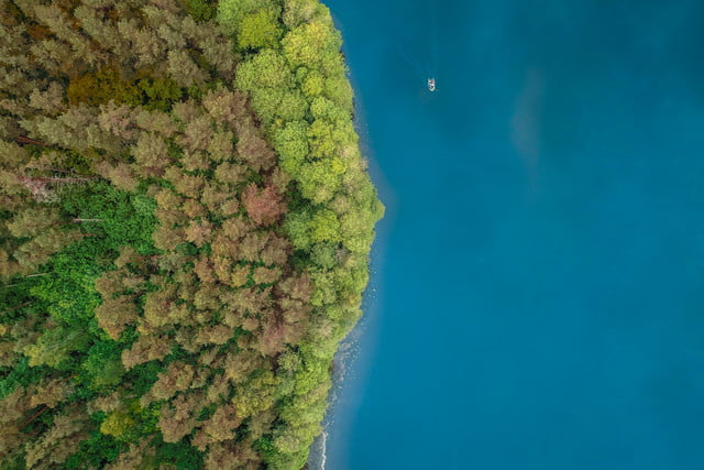 best drone photos marvel lithuania lakes