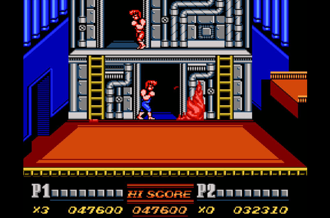 best nes games ever double dragon screens 1