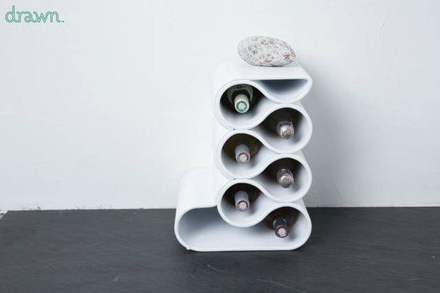 drawn will 3d print your furniture any way you want printed wine rack