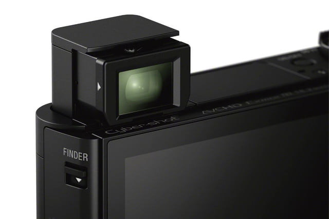 sony shows off engineering magic squeezes 30x lens and evf into compact camera dsc hx90v image closeup 1200
