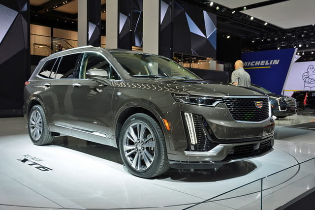 2020 Cadillac XT6 Revealed Ahead of 2019 Detroit Auto Show | Digital Trends