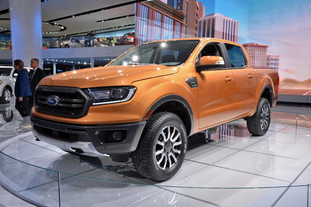 Ford Ranger 2019 >> 2019 Ford Ranger Pickup Aims To Make Up Lost Ground With A Dose Of