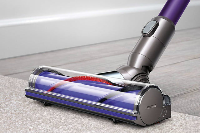 amazon dyson vacuum and air purifier easter week sales v6 animal cordless stick cleaner purple 02