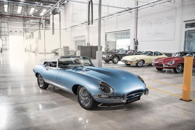 Jaguar Electric E Type Zero Is A Classic Car That S Good For The