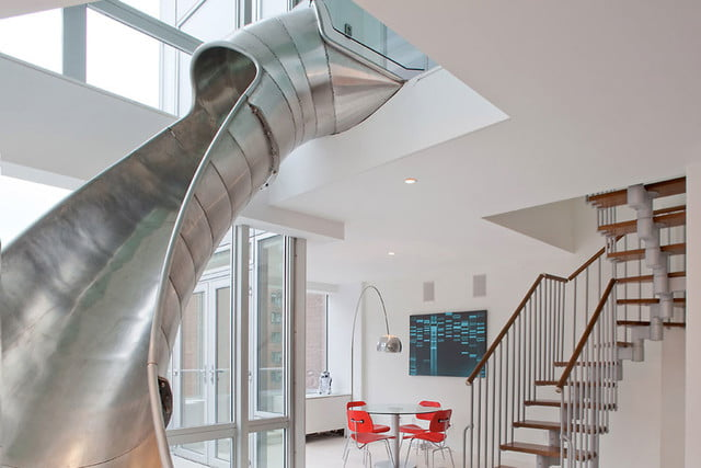 Houses with Amazing Indoor Slides   Digital Trends
