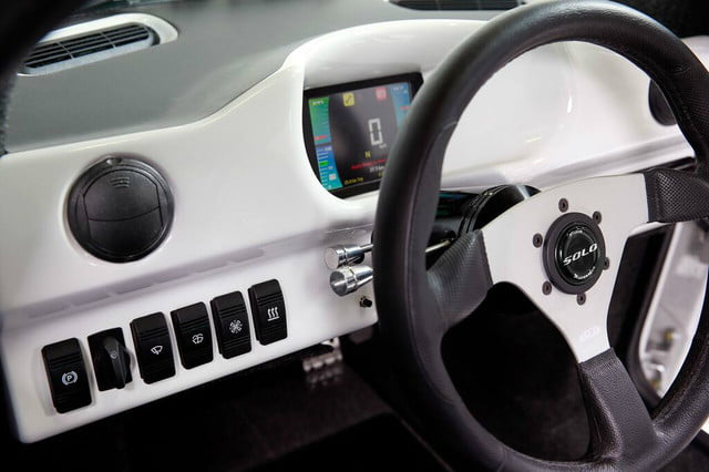 electra meccanica solo unveiled dashboard left side switches