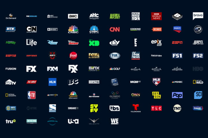 playstation vue channel guide plans features elite 2018