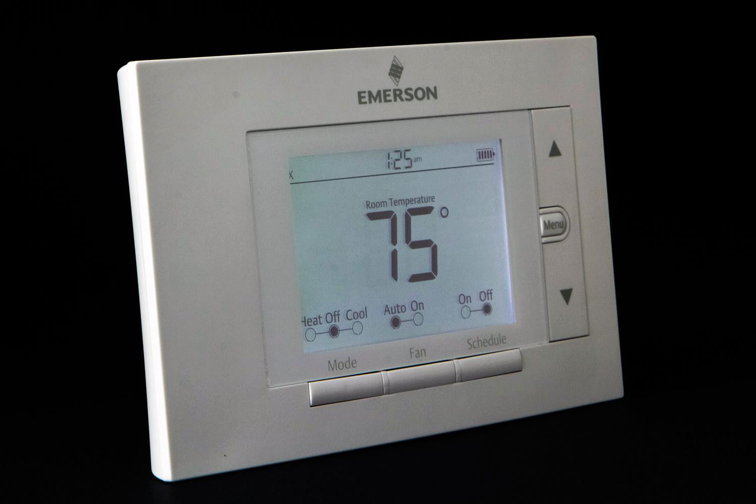emerson sensi thermometer review front light 1500x1000?ver=1 emerson sensi thermostat review digital trends wiring diagram for a emerson up310 thermostat at eliteediting.co