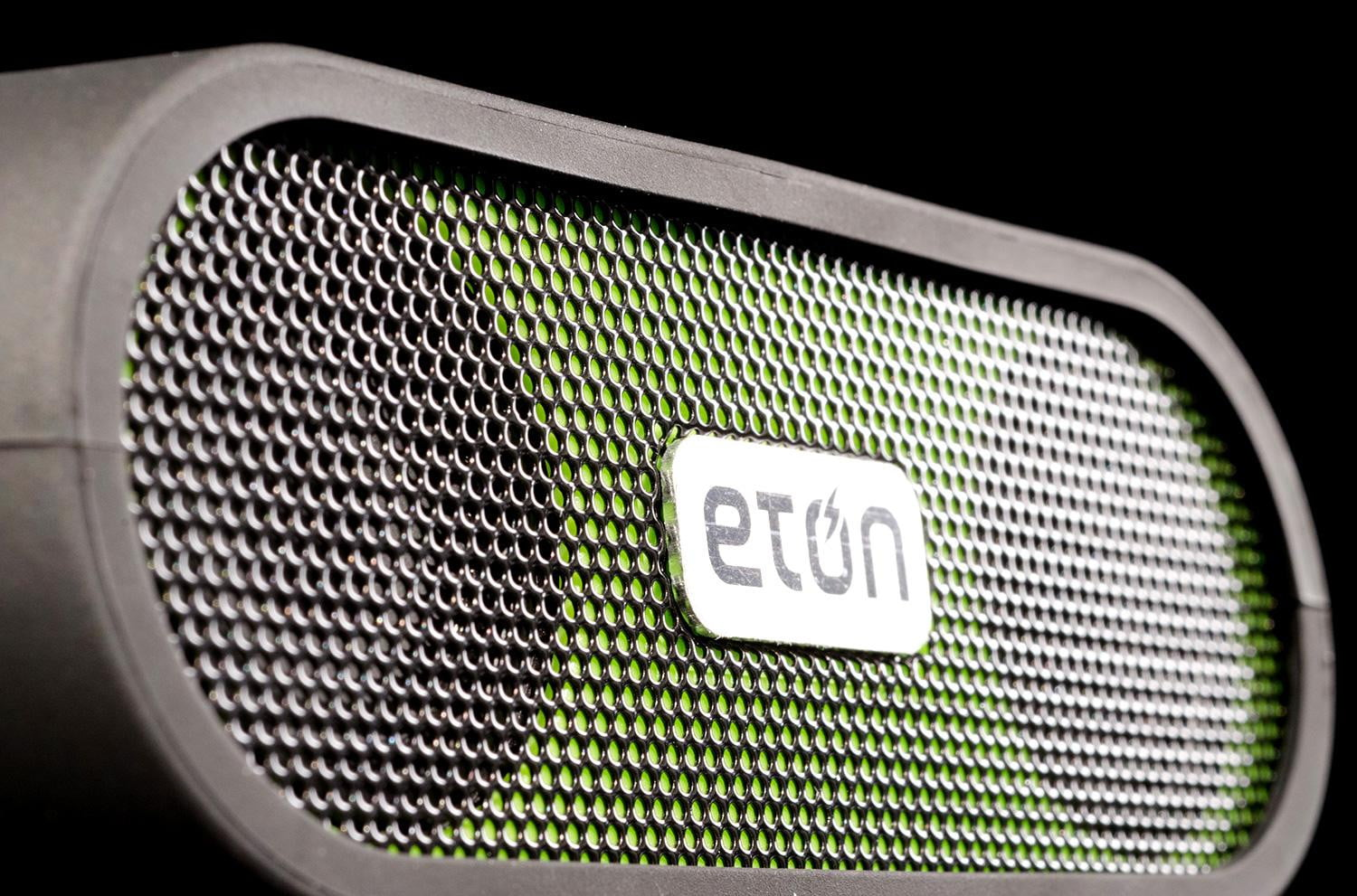 Eton Rugged Rukus Review Solar Ed Bluetooth Speaker Front Angle