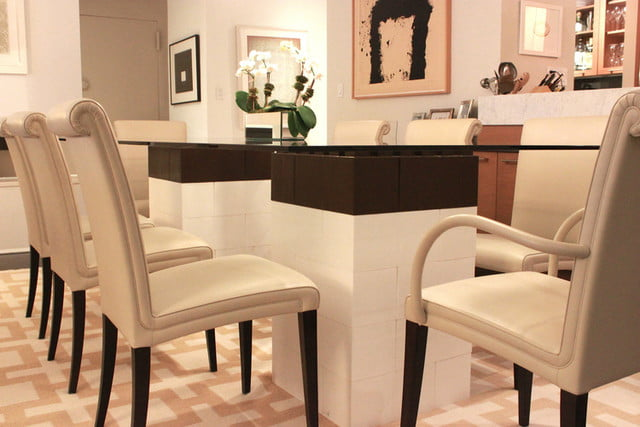 everblock makes life sized legos for furniture building lego dining table