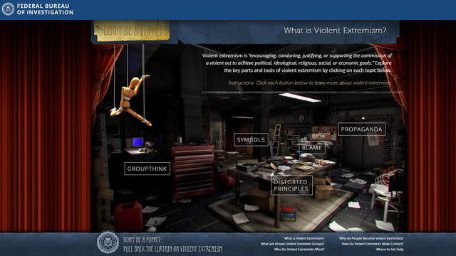 fbi anti extremism site targets teens but misses the mark fbisite01