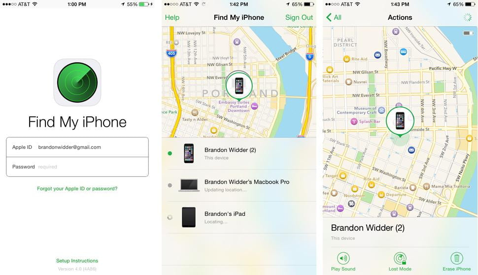 use find my iphone how to use find my iphone digital trends 16357