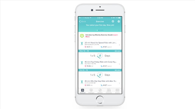 works with fitbit partnerships ces 2017 partnership 4