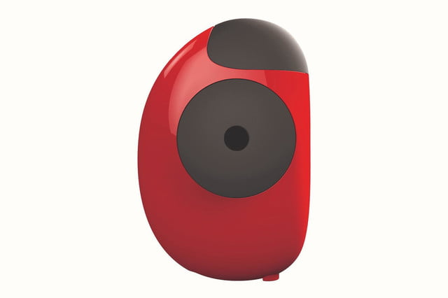 floome smart breathalyzer connects to your smartphone floorme red profile press image