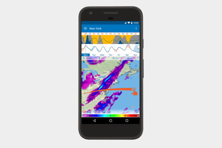 flowx best android weather apps