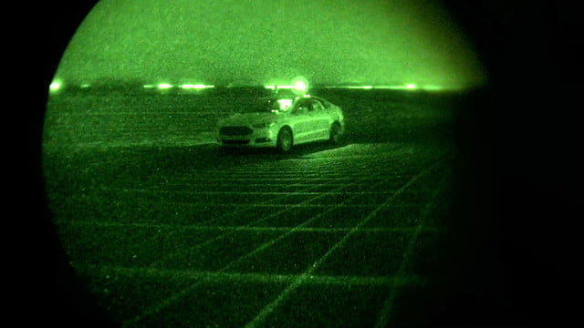 Project Nightonomy Autonomous Vehicle Testing in the Dark - Ford Fusion