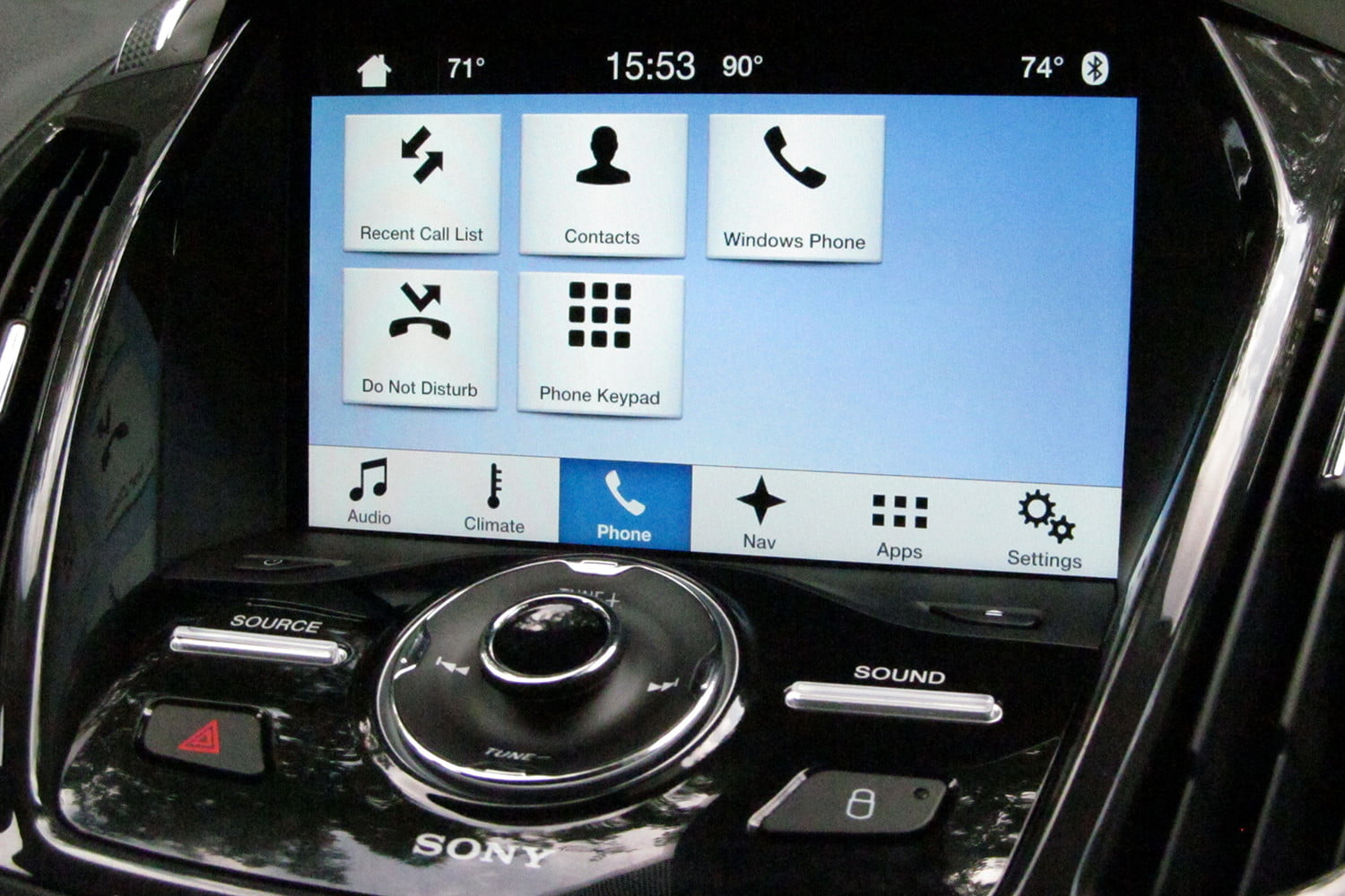 ford sync 3 review digital trends. Black Bedroom Furniture Sets. Home Design Ideas