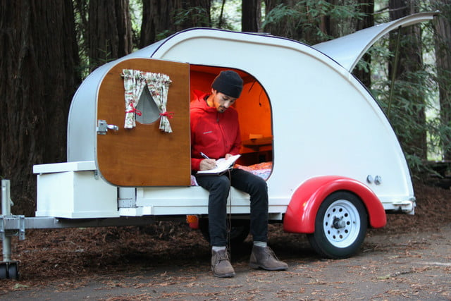 camp weathered forest cottage teardrop trailer forestcottage5