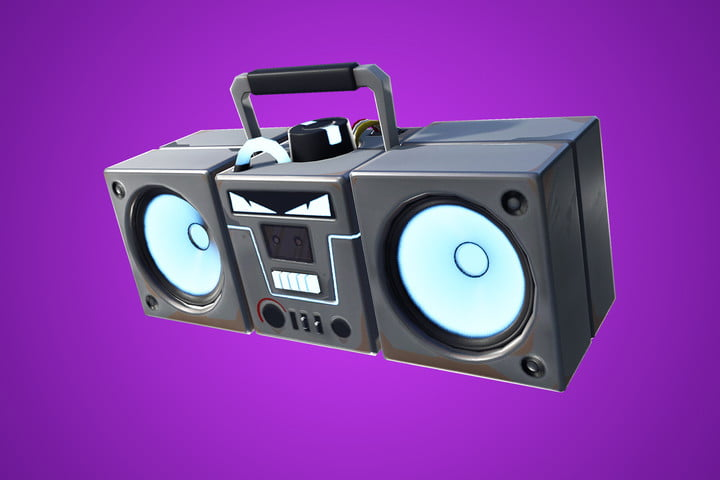 fortnite adds boom box special new years eve event fortniteboombox