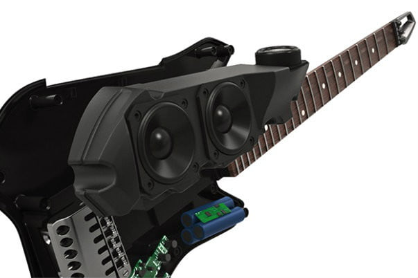 Fusion guitar, smart guitar, electric guitar, iphone guitar