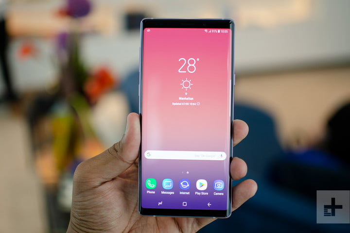 Galaxy Note 9 front