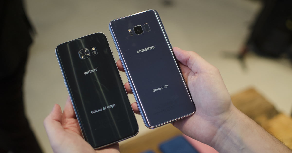samsung galaxy s8 plus vs samsung galaxy s7 edge spec comparison digital trends. Black Bedroom Furniture Sets. Home Design Ideas