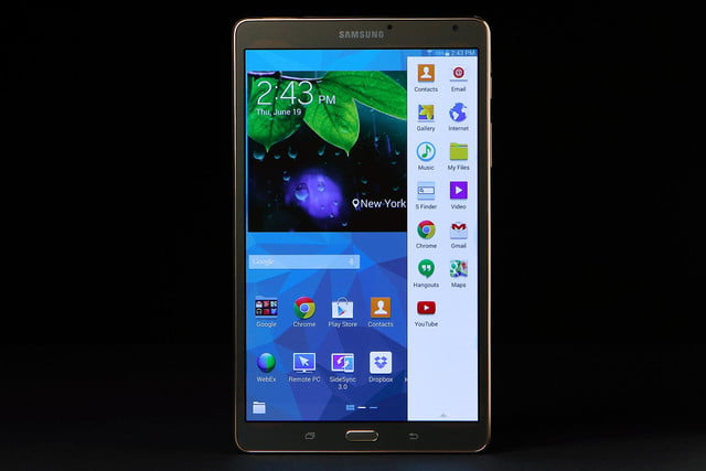 Galaxy TAB S 8.5 front 1