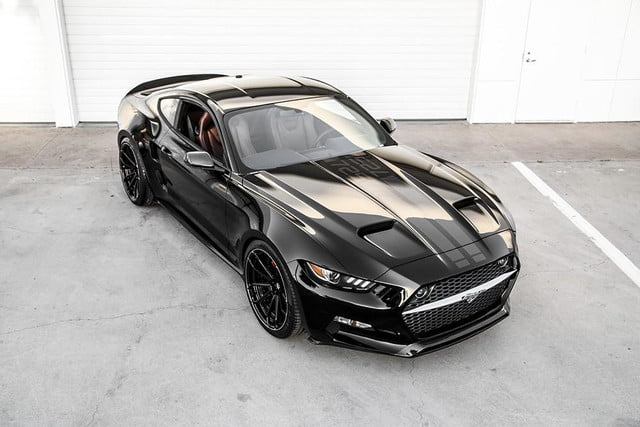 galpin auto sports unveils first production rocket mustang fisker  10 low res