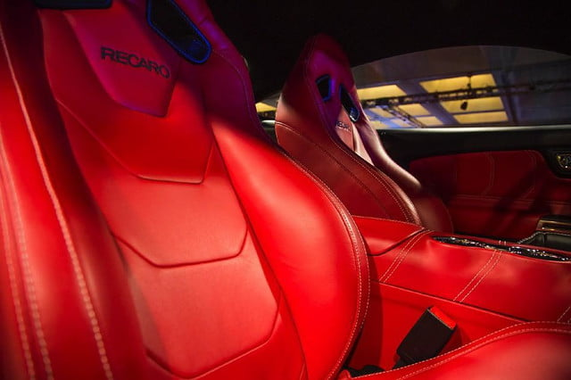 galpin auto sports unveils first production rocket mustang galpinrocket interior 06