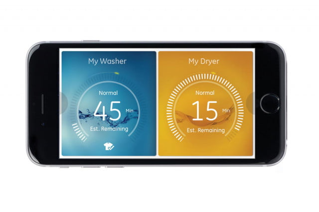 ge unveils a full suite of smarthome appliances at ces 2015 profile connected kitchen washerdryer app