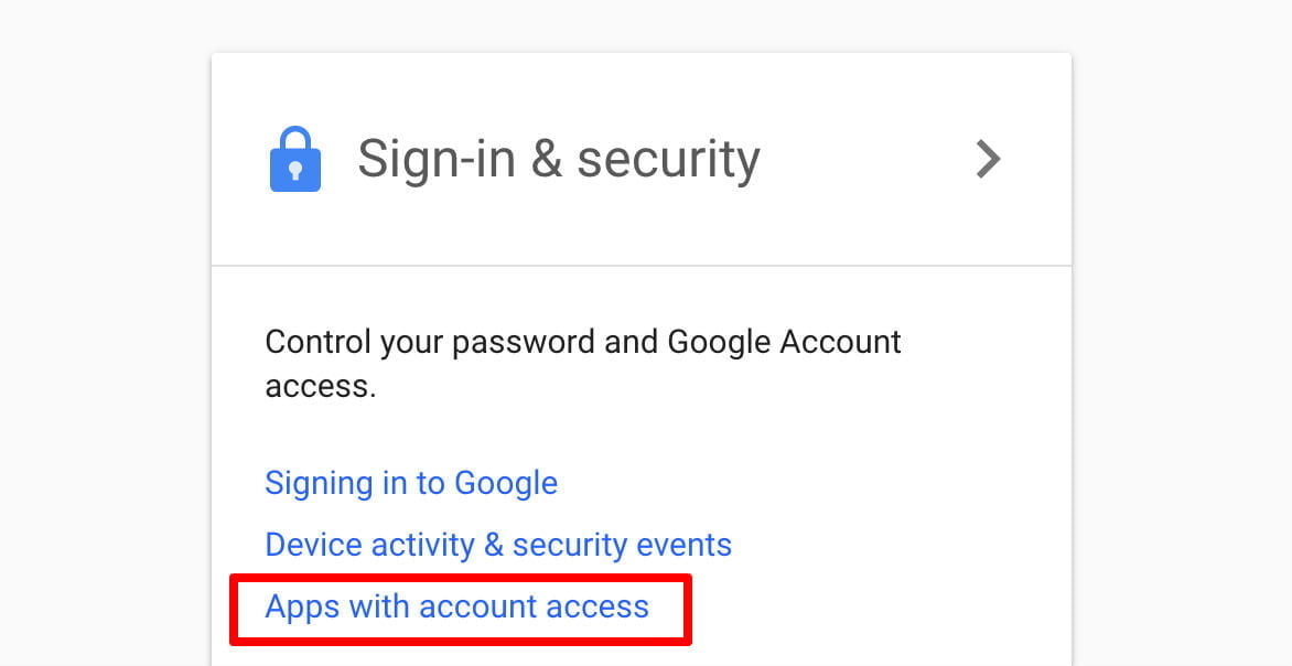 stop reading my email gmail security2