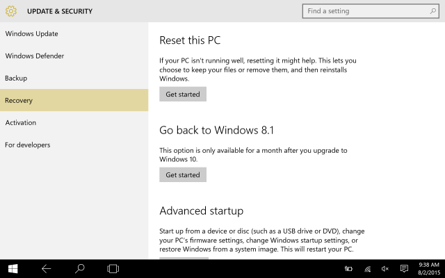 can you update from windows 8 to 10