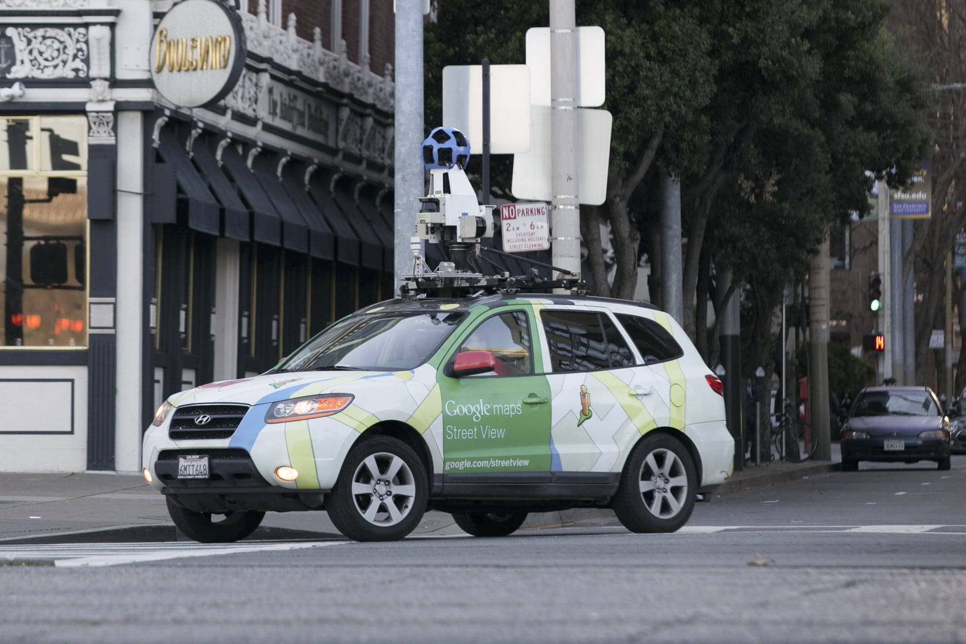Google's Street View Cars Are Helping Build A Giant Map Of Global Air Pollution