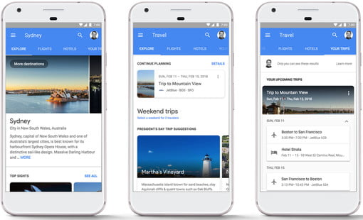Google Makes It Even Easier For You to Plan a Trip on Your