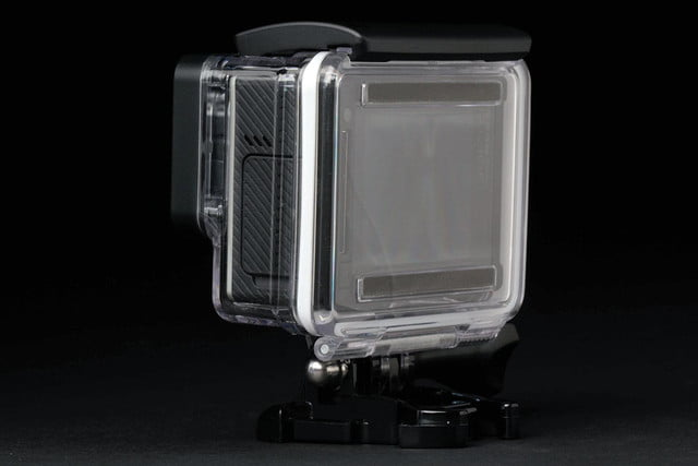GoPro Hero4 Silver back side angle