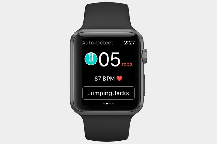 best fitness apps for the Apple Watch Gymatic