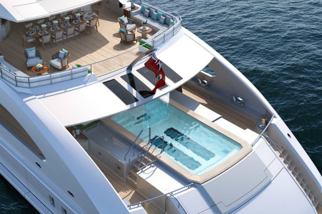 billion dollar superyacht has helipad and concert venue heesen yachts 3  the superyachts most impressive feature is 6 metre i