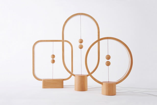 Heng Balance Lamp: Magnetically actuated lamp
