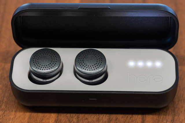 here active listening system hands on earbuds caseopen2v2