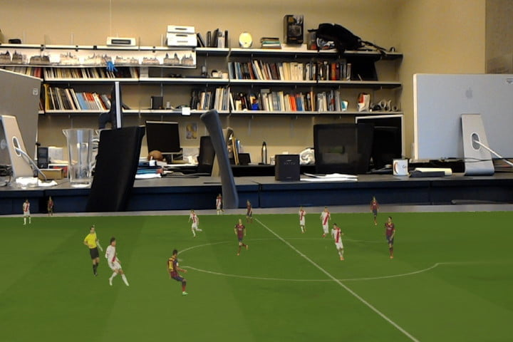 soccer augmented reality algorithm hologramsoccer