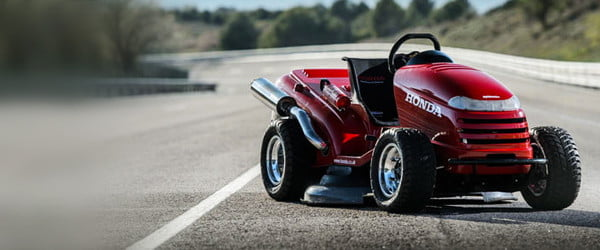 Honda to reclaim record for world's fastest lawn mower — seriously