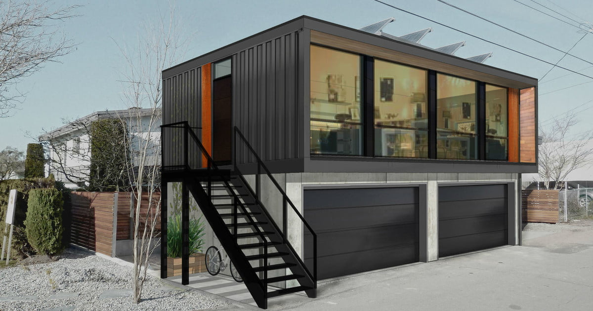 Honomobo Shipping Container Homes Are Stackable And
