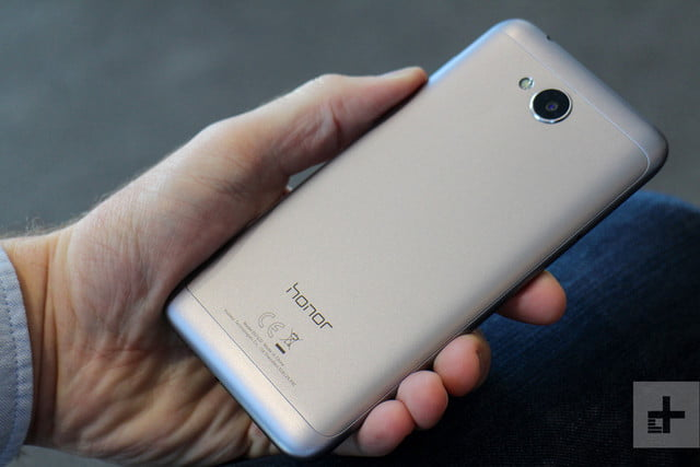 Honor 6A in hand back