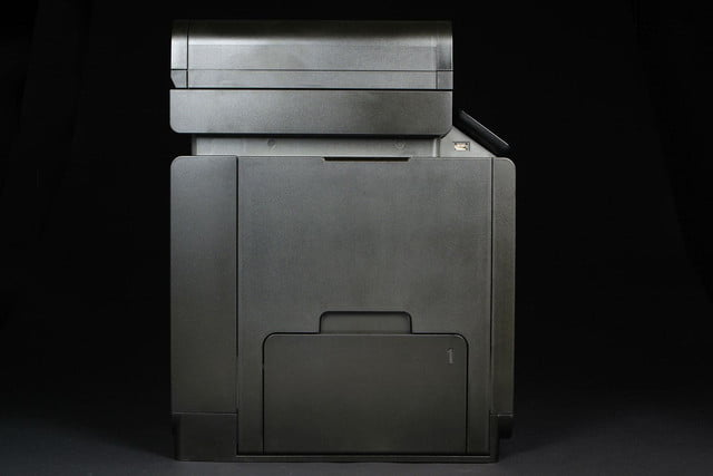 HP OfficeJet Pro X right side closed